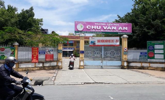 UBND TP Cao Lãnh chỉ đạo ngành chức năng kiểm tra thông tin các khoản thu dự kiến lớp 1 được cho là xảy ra tại trường tiểu học Chu Văn An.