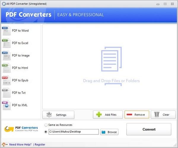 Công cụ giúp dễ dàng biến hóa file PDF sang nhiều định dạng khác nhau - 1