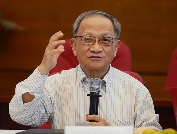 Chuyên gia kinh tế Lê Đăng Doanh.