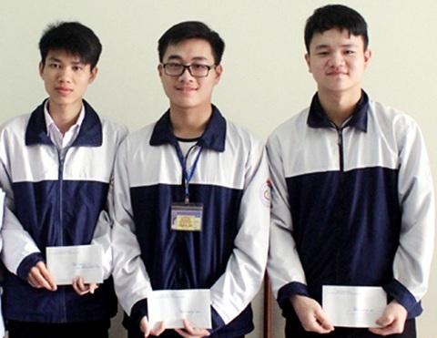 3/5 thí sinh trường THPT Chuyên Hà Tĩnh được đặc cách trong kỳ thi THPT Quốc gia 2017