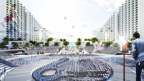 Dự án Condotel tiếp theo của Vịnh Nha Trang kết hợp giải trí lễ hội và nghỉ dưỡng mang tính cộng đồng đầu tiên tại Bãi Dài Cam Ranh