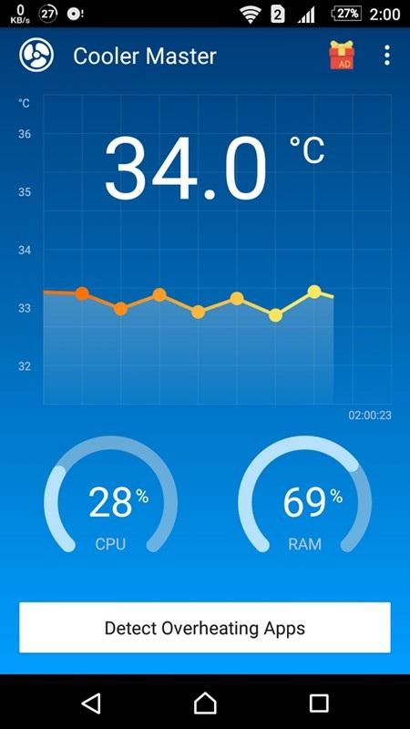 Ứng dụng quản lý và giúp hạ nhiệt độ khi smartphone trở nên quá nóng - 2