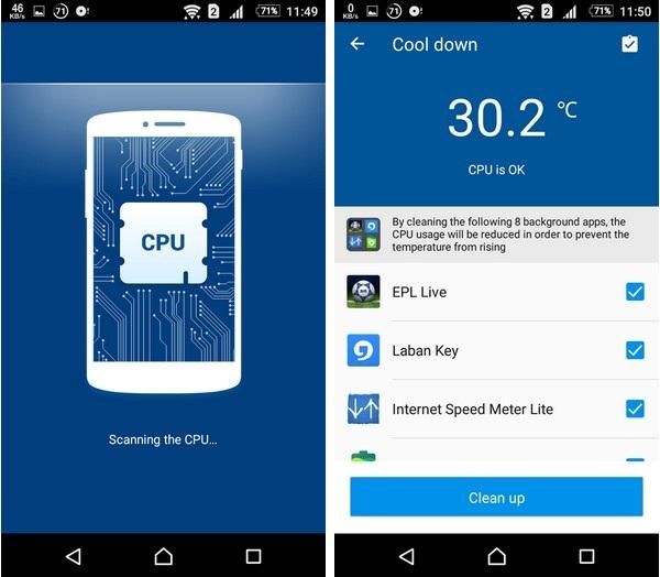 Ứng dụng quản lý và giúp hạ nhiệt độ khi smartphone trở nên quá nóng - 3