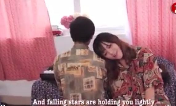 Hình ảnh trong clip cover Nơi này có anh phiên bản Tiếng Anh