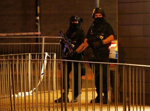 Hiện trường vụ nổ bom. Ảnh: Reuters.