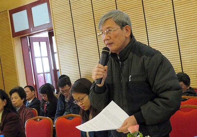 Cử tri quận Hoàn Kiếm đề cập những vấn đề liên quan đến tinh giản biên chế trên địa bàn TP Hà Nội