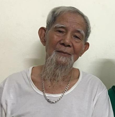 Ông Lê Đình Kình, 82 tuổi, là người liên quan đến vụ án ở xã Đồng Tâm huyện Mỹ Đức, Hà Nội.