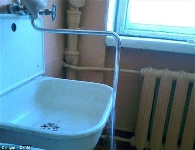 Vòi nước khó hiểu nhất mọi thời đại.