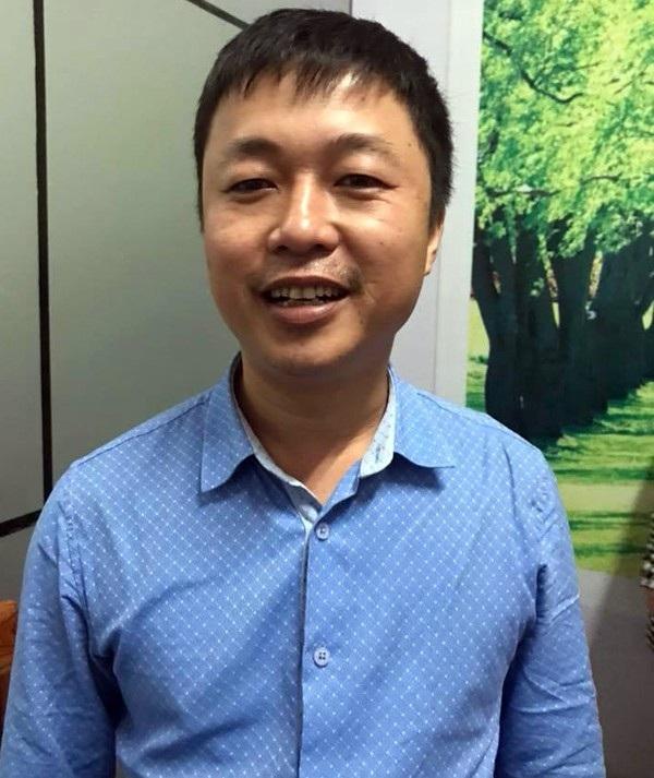 Anh Dương Hải Cường hạnh phúc vì đã cứu được một mạng người.
