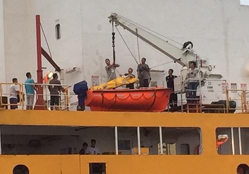 MRCC Việt Nam cứu nạn thuyền viên mang quốc tịch Trung Quốc