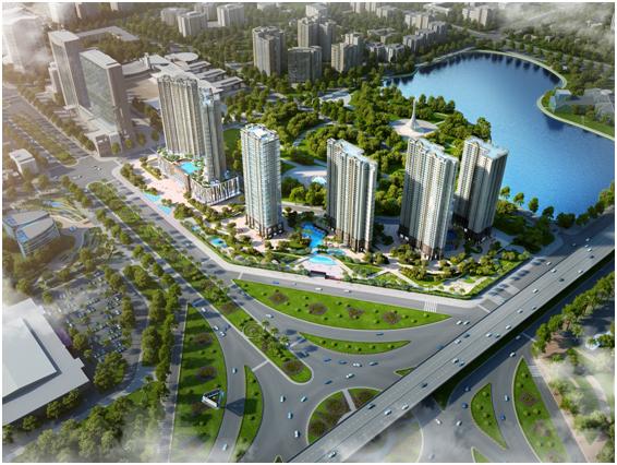 Dự án D'. Capitale đánh dấu bước phát triển mới của Tân Hoàng Minh