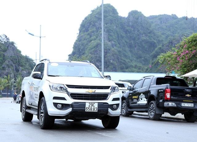 Mẫu bán tải nhập khẩu nguyên chiếc từ Thái Lan của GM Việt Nam được hỗ trợ với mức giảm trừ tiền khá lớn.