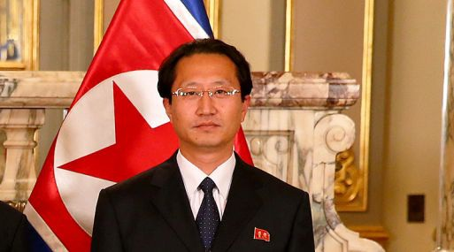Đại sứ Triều Tiên tại Peru Kim Hak-Chol (Ảnh: Gestion.pe)