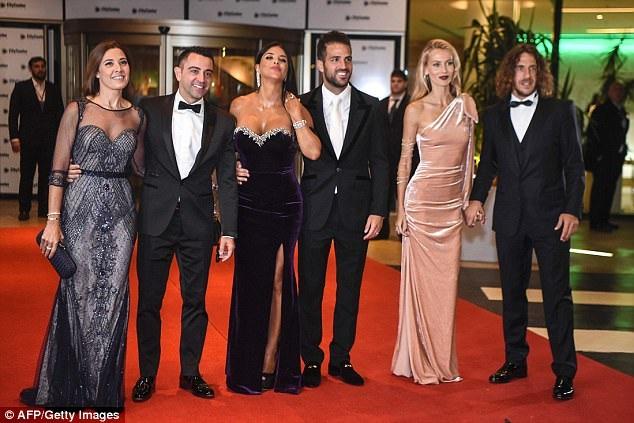 Nhiều nhân vật nổi tiếng trong làng túc cầu tới tham dự lễ cưới của Messi