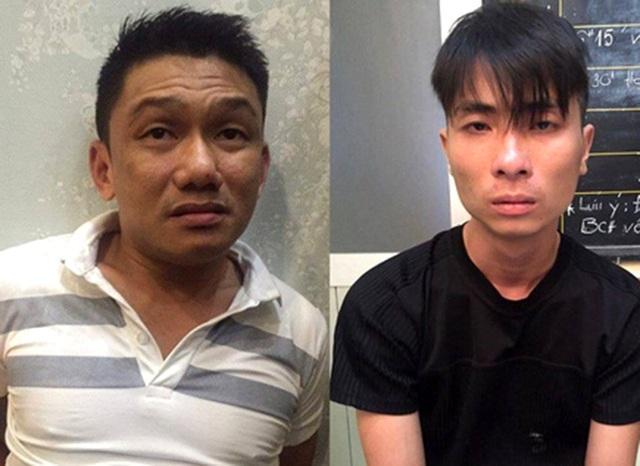 Hai đàn em của bà trùm ma tuý Trần Kim Yến.