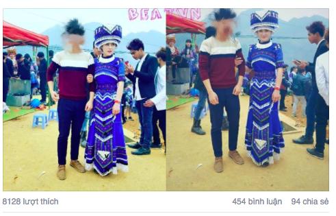 Những hình ảnh của cô gái dân tộc HMông rất được dân mạng quan tâm
