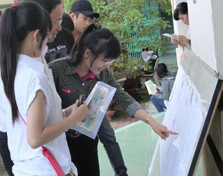 Thí sinh đã đăng ký dự thi bài thi tổ hợp nào thì phải dự thi hết các môn thành phần của bài thi tổ hợp đó