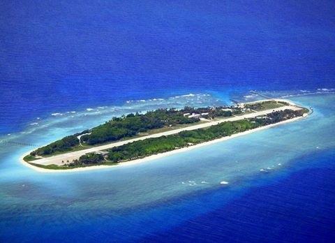 Đảo Ba Bình thuộc quần đảo Trường Sa của Việt Nam đang bị Đài Loan chiếm đóng trái phép