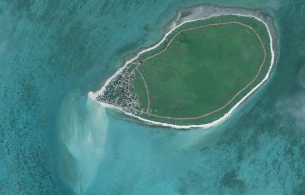 Đảo Cây thuộc quần đảo Hoàng Sa của Việt Nam (Ảnh: AFP)
