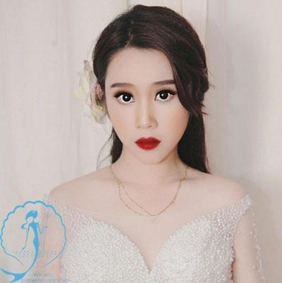 Người đẹp có khuôn mặt như búp bê barbie lọt vòng tuyển chọn online của Hoa hậu Đại Dương đó là thí sinh Đào Nguyễn Nhật Thư.