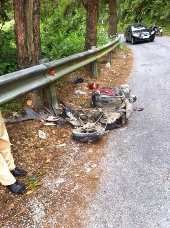 Một tai nạn thương tâm trên cung đường phượt (ảnh: Internet)