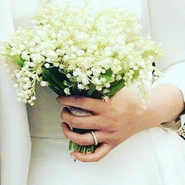 Bó hoa cưới giản dị nhưng đặc biệt và có ý nghĩa của cô dâu Song Hye Kyo.