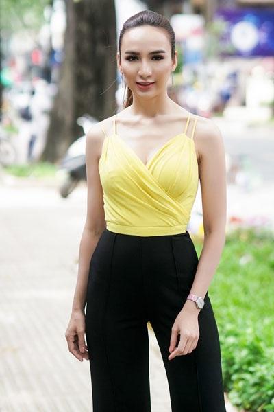 """Á quân The Face ngọt lịm sắc hồng pastel, hoa hậu Ngọc Diễm nóng """"bỏng mắt"""" - 2"""