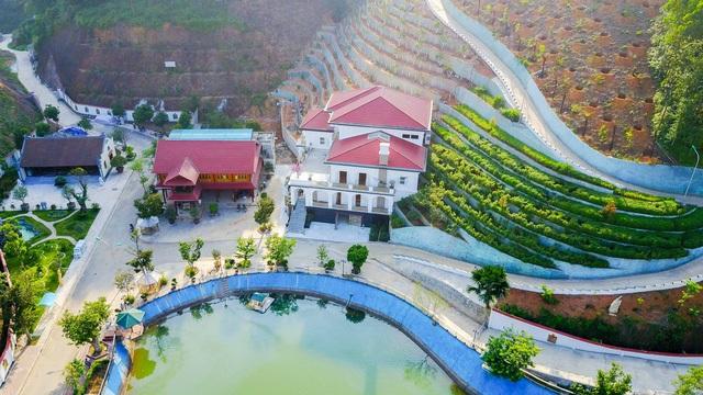 Khu dinh thự của gia đình ông Phạm Sỹ Quý - Giám đốc sở TN - MT tỉnh Yên Bái