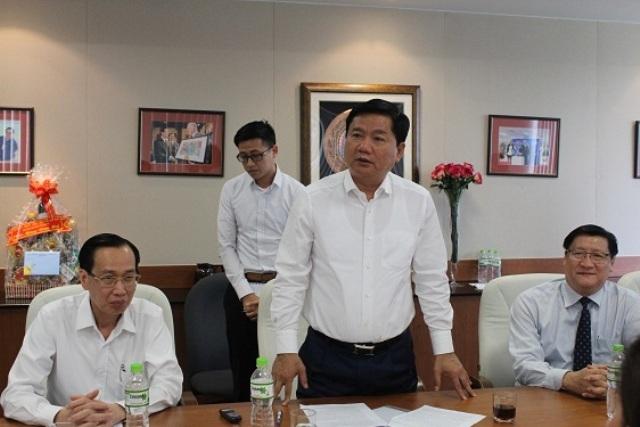 Bí thư Thành ủy TPHCM Đinh La Thăng đề nghị Intel giúp thành phố phát triển nguồn nhân lưc chất lượng cao