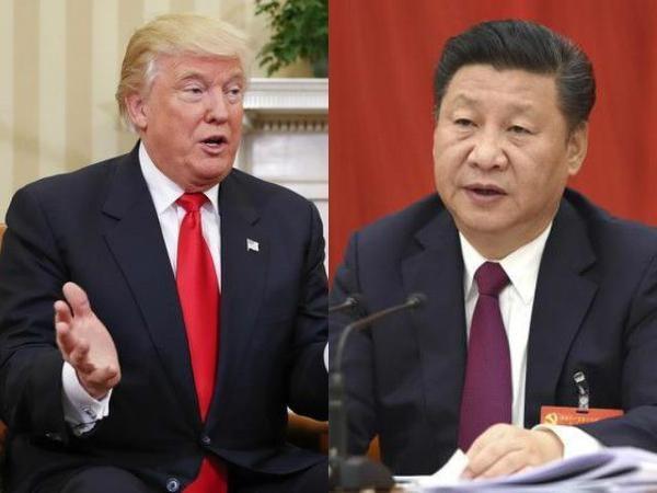 Tổng thống Mỹ Donald Trump (trái) và Chủ tịch Trung Quốc Tập Cận Bình. (Ảnh: Getty)