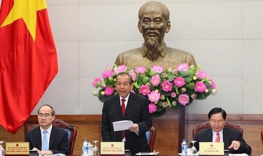 Phó Thủ tướng Trương Hoà Bình chủ trì hội nghị trực tuyến đánh giá việc triển khai đo lường, xác định chỉ số hài lòng của người dân với cơ quan nhà nước.