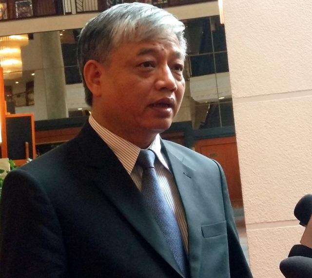 Thứ trưởng Doãn Mậu Diệp được phân công thêm việc giữ chức Chủ tịch Hội đồng tiền lương quốc gia từ ngày 17/2/2017.