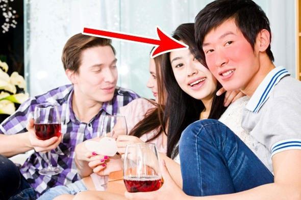 Tại sao lại có những người dễ đỏ mặt khi uống bia rượu? - 1