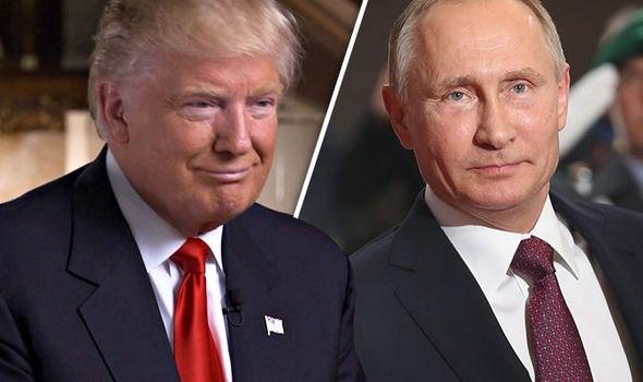 Tổng thống Mỹ Donald Trump (trái) và người đồng cấp Nga Vladimir Putin (Ảnh: Getty)