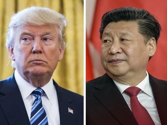 Tổng thống Mỹ Donald Trump và Chủ tịch Trung Quốc Tập Cận Bình (Ảnh: USA Today)