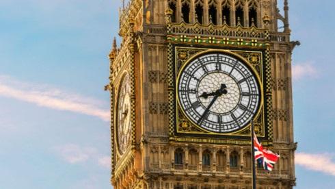Đồng hồ Big Ben. Ảnh: Visit London.