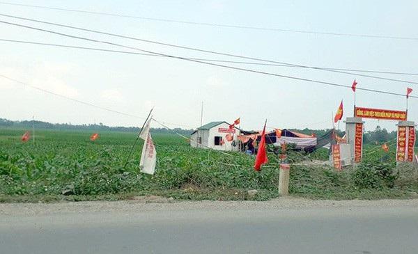 Vụ việc xảy ra ở Đồng Tâm bắt nguồn từ tranh chấp đất đai ở cánh đồng Sênh