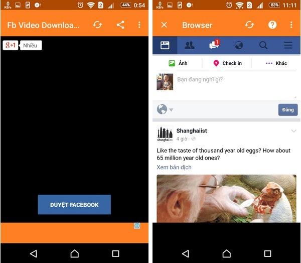 Tuyệt chiêu giúp dễ dàng download video từ Facebook về smartphone - 2