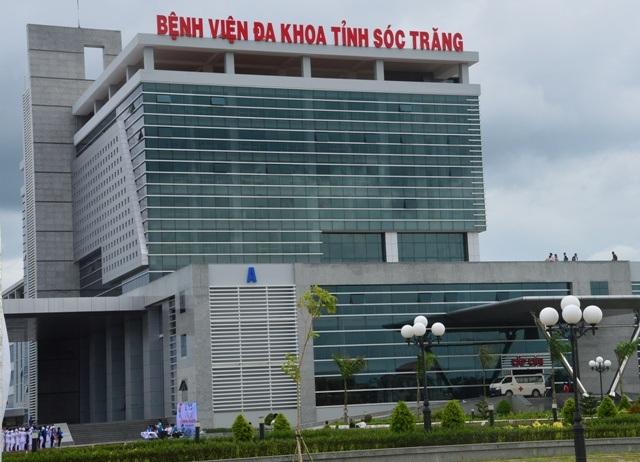 Bệnh viện đa khoa tỉnh Sóc Trăng- nơi xảy ra một số vụ tử vong đột xuất.