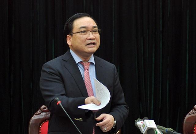 Bí thư thành uỷ Hà Nội Hoàng Trung Hải chỉ đạo xử lý vụ 146 Quán Thánh.