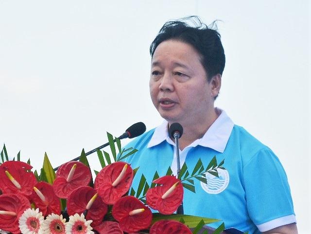 Bộ trưởng TN&MT Trần Hồng Hà nhấn mạnh: Biển và hải đảo có tầm quan trọng vô cùng đặc biệt đối với nước ta.