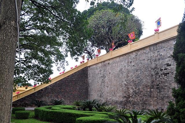 Giám đốc Trung tâm bảo tồn di sản Thăng Long - ông Trần Việt Anh cho biết, nếu rêu phong, cây cối mọc bám tự nhiên lên tường Thành thì rất dễ ảnh hưởng đến kết cấu gạch, đá bên trong.