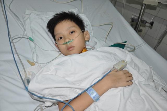 Lên 10 tuổi, cậu bé Đạt được chuẩn đoán suy tim nặng và chỉ còn 1 phương pháp để cứu sống em đó là ghép tim với chi phí từ 700 triệu đồng đến 1 tỉ.