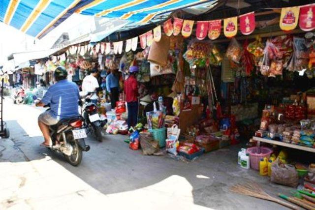 Một góc chợ Cái Nước cũ. (Ảnh minh họa)