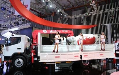 Những mẫu xe tải ưu việt được FUSO trưng bày tại VMS 2017
