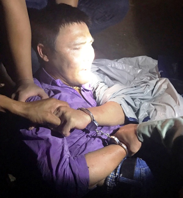 Ông trùm ma tuý Lê Ngọc Sơn bị tra tay vào còng
