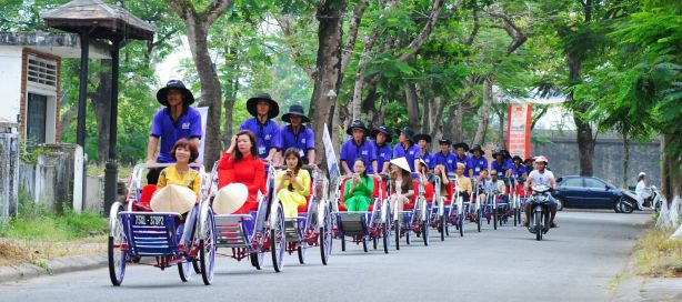 Tour xích lô Huế