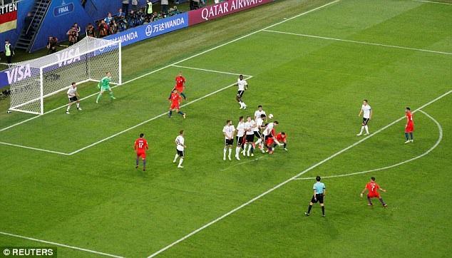 Chile đã rất cố gắng, nhưng họ không thể tạo ra được sự khác biệt