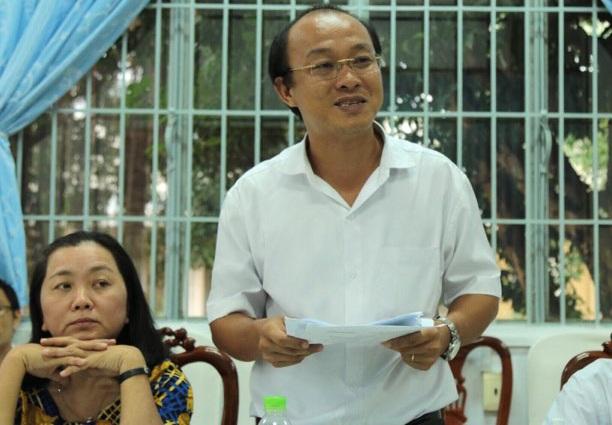 Ông Nguyễn Anh Đức, Phó Chủ tịch UBND huyện Cần Giuộc cho rằng theo quy định quản lý đất đai, quản lý sử dụng đất trách nhiệm Chủ tịch xã.