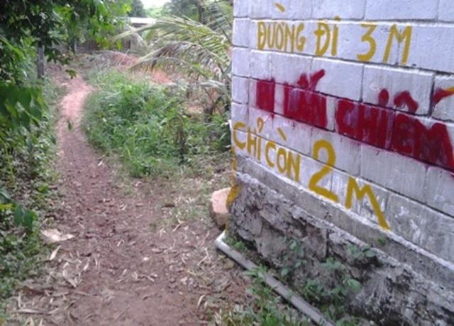 Riêng những đoạn đường bị công trình DN Hải Lưu xây dựng lấn chiếm, người dân chờ kết luận và xử lý của lãnh đạo huyện Phú Quốc